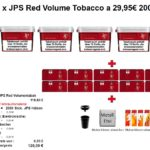 2. 4 x JPS Red Volume Tobacco a 29,95€ 200g