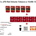 4. 5 x JPS Red Volume Tobacco a 19,95€ 130g